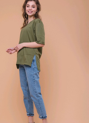 Женская кофта футболка реглан
