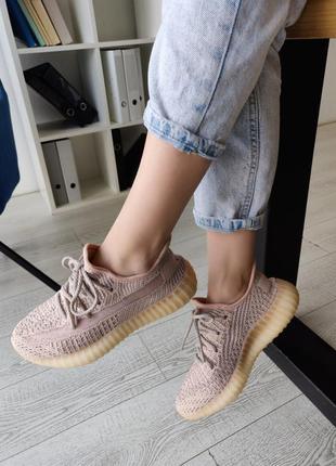 Adidas yeezy boost 350 reflective 🔺 женские кроссовки