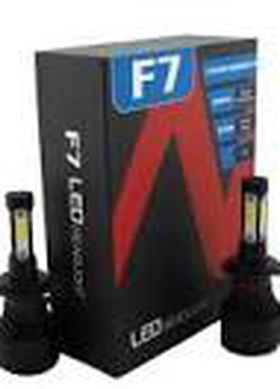 Светодиодные LED лампы F7 H7 для автомобиля | автолампы COB 9000L