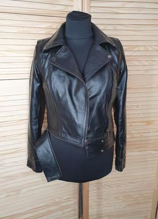 Куртка-трансформер в натуральной коже 🌟