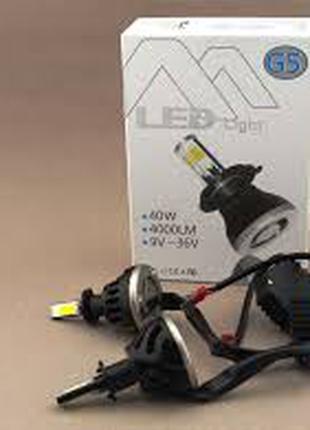 Светодиодные LED лампы G5 H4 H/L для автомобиля | автолампы 8000L