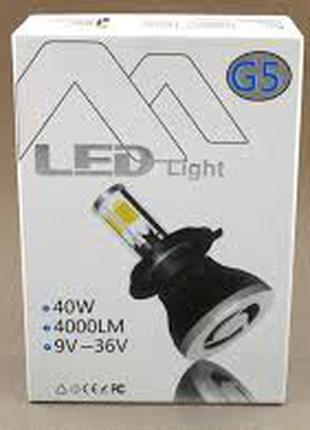 G5 LED H740W 6000K автолампы светодиодные c цоколем H7 Подробнее