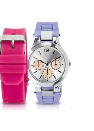 Комплект набор ремешков ремешки ремень часы ив роше yves roche...