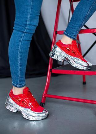 Adidas raf simons red 🔺женские кроссовки
