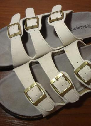 Итальянские брендовые шлепанцы bio comfort 40 размер