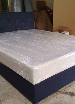 Кровать Двуспальная, с матрасом в комплекте