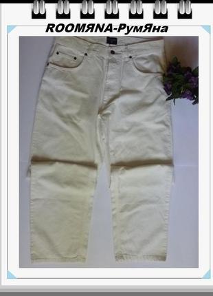 Классические молочные белые прямые джинсы хорошая посадка хоро...