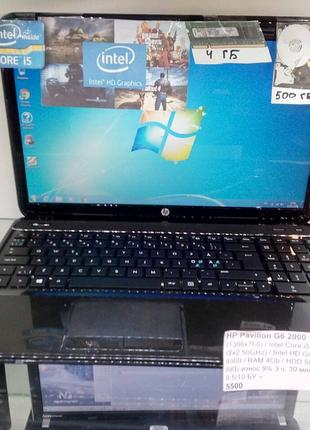 Ноутбук hp i5 2320m,500 gb,ddr3 4gb