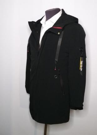 Куртка демисезонная длинная мужская