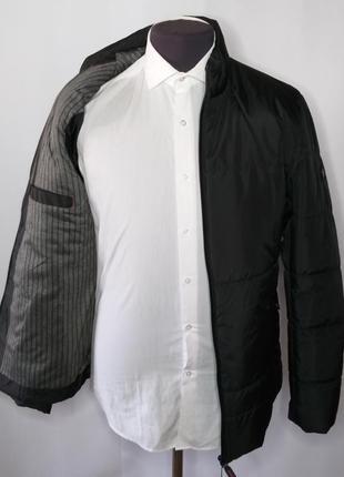 Куртка мужская демисезонная классическая чёрная