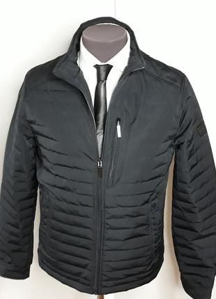 Куртка мужская демисезонная классическая синяя
