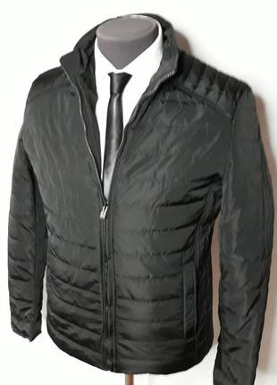 Куртка мужская классическая на весну черная