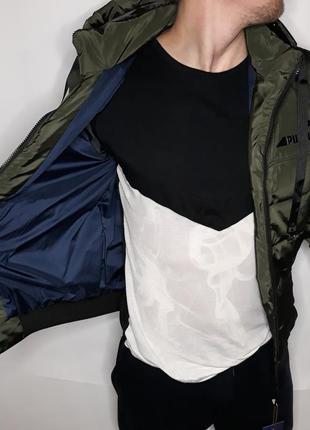 Куртка мужская демисезонная хаки puma