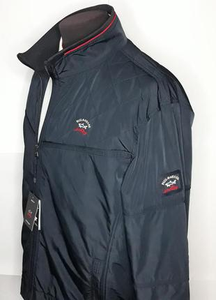Куртка мужская демисезонная синяя paul shark