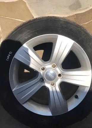 Диски Jeep Compass Patriot 2016 R 17 титаны колёса по одному