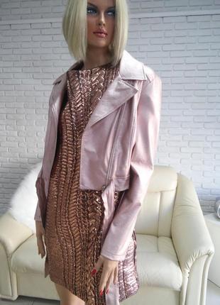 Новая коллекция платье бронзовое л и хл распродажа закрытие ма...