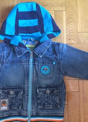 Стильная джинсовка,куртка от topolino