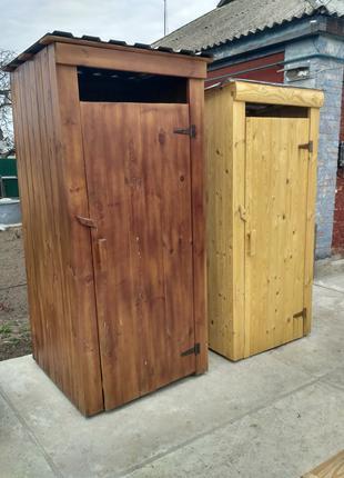 Туалет деревянный Душд еревянный
