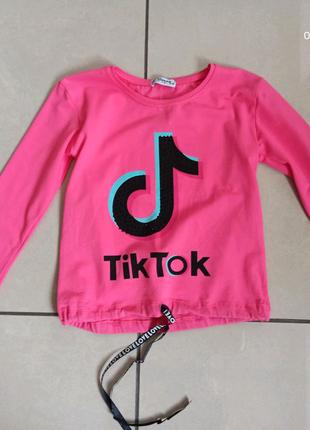 Кофта Tim Tok для девочек 5-9 лет