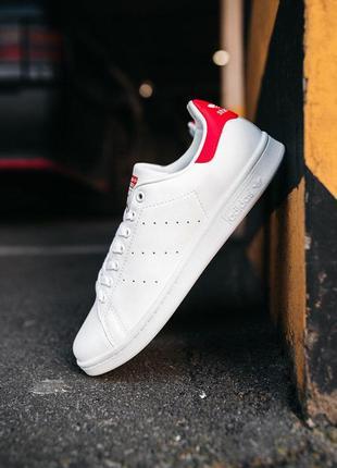 Adidas stan smith «white/red»