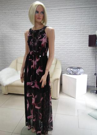 Платье в пол новинка из италии