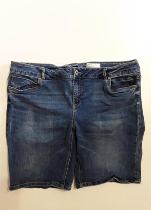 Фирменные джинсовые стрейчевые шорты