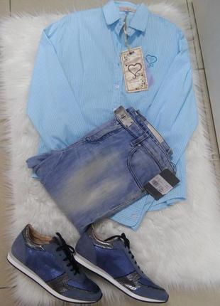 Стильная рубашка новой коллекции axel греция распродажа