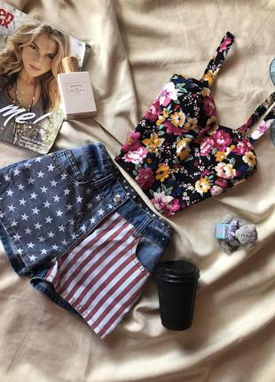 Стильные джинсовые шорты от denim&co