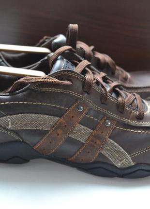 Skechers 42р кроссовки ботинки кожаные.