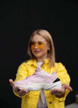 Кроссовки nike techno m2k pink