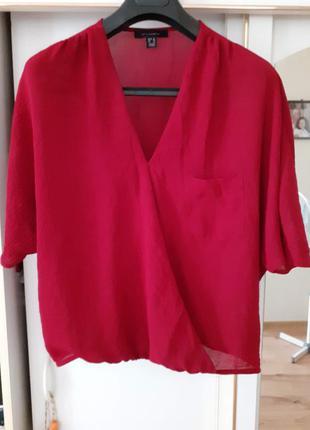 Очаровательная на запах блузка