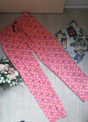 Яркие домашние штаники размер хс love to lounge
