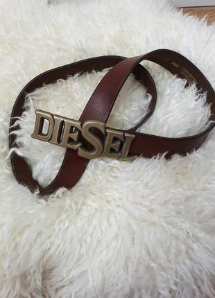 Женский кожаный ремень diesel