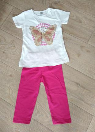 Повседневный костюм для девочки (5-6 лет)