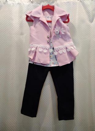 Шикарный костюм для девочки
