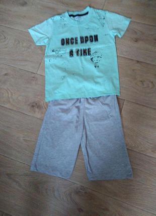 Летний костюм для мальчика, 6 лет