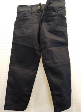 Черные джинсы для мальчика 1 год