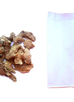 Имбирь корень сушёный резаный слайсы кусочки 100%