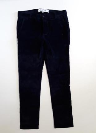 Фирменные стрейчевые брюки штаны вельветы 30р.