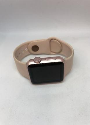 Apple iWatch 1 38 mm Rose Gold Aluminum Case with Pink Sand Sp...