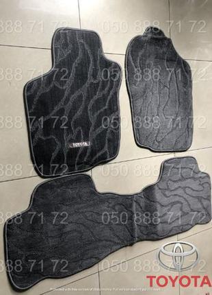 Оригинальные коврики на Toyota Rav4, Land Cruiser Prado, Fortuner