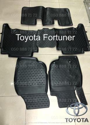 Оригинальные коврики для Toyota Hilux, Fortuner