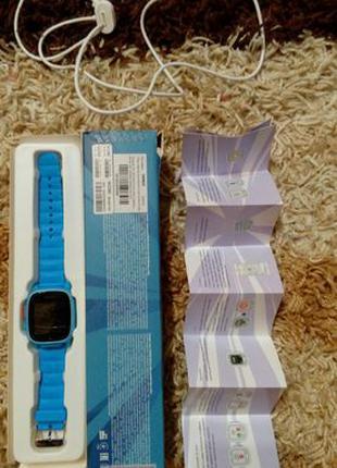 Смарт часы Nomi Kids Heroes W2 Blue
