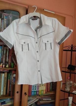 Строгая летняя рубашка