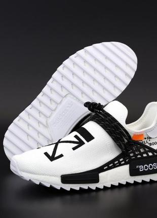 Adidas human race nmd white ♦ мужские кроссовки ♦ весна лето о...