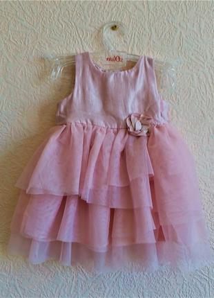 Платье на девочку 5-7 месяцев h&m