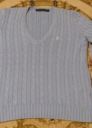 Свитшот свитер джемпер пуловер v-neck polo ralph lauren