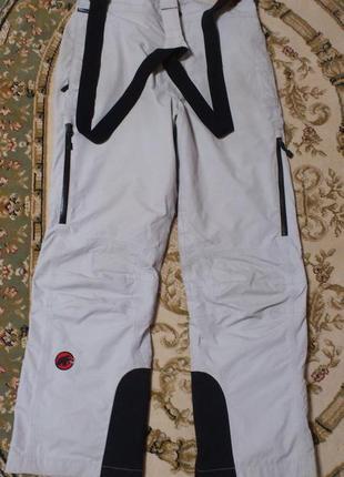 Комбинезон mammut мембранные штаны для альпинизма лыжные горно...