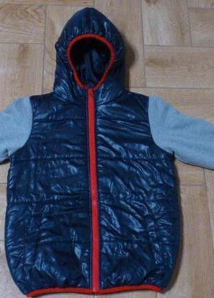Курточка детская дитяча куртка демисезонная kidz alive 9-10 ле...