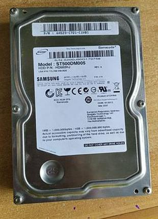 Жесткий диск Seagate (Samsung) Barracuda 7200.12 500GB 7200rpm...